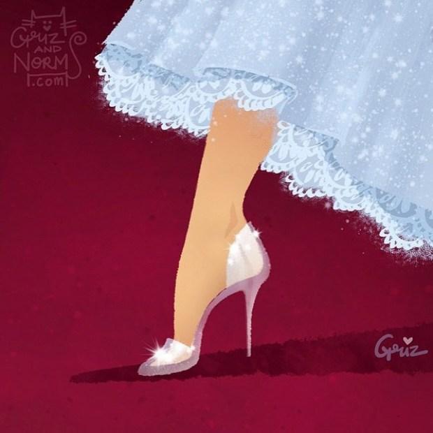 sapatos princesas disney shoes princess blog got sin cinderella stuart witzman