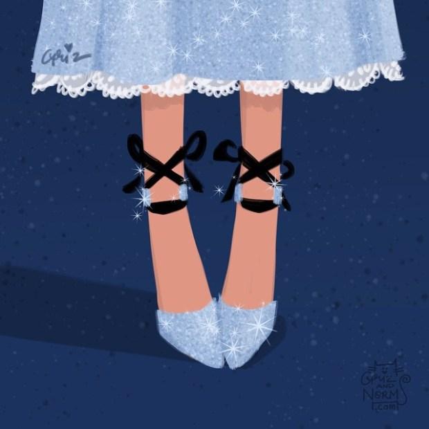 sapatos princesas disney shoes princess blog got sin wendy jimmy choo