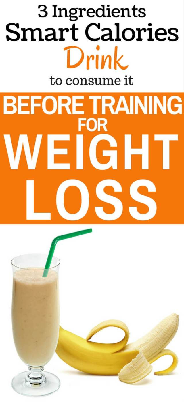 Drink this smart calorie drink before workouts for weight loss and fat burn. It will improve your metabolism fast.