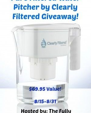 Clearly Filtered Stay Hydrated Giveaway
