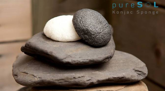 PureSOL Konjac Facial Beauty Sponges