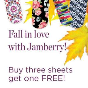 Jamberry Nails B3G1 offer