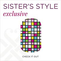 "Enter the Giveaway on GottaChop.com for the Exclusive Jamberry wrap -- ""Check It Out"""