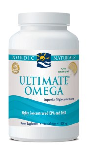 ultimate omega by nordic naturals