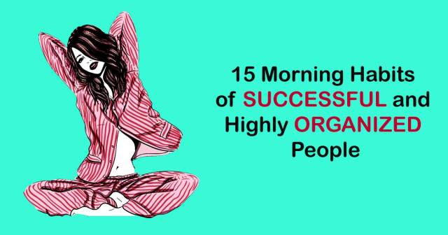 Image result for 15 Morning Habits of Successful