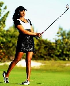 Image of golfer Seema Sadekar