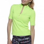 Image of Kevan Hall women's golf shirt