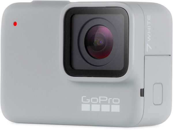 GoPro Hero7 white action camera overview