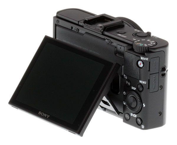 Sony RX100 II screen angle