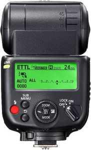 Canon Speedlite 430EX display