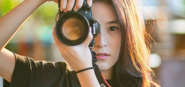 hobbyist female photographer