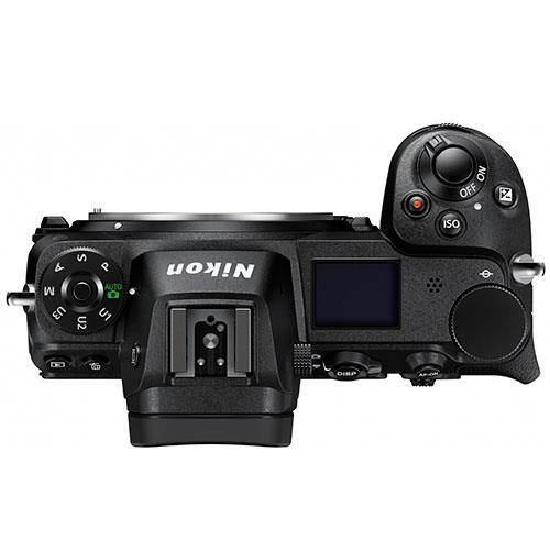 Nikon Z6 top view