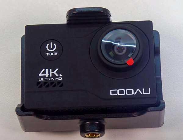 Cooau 4k action camera 20 mp