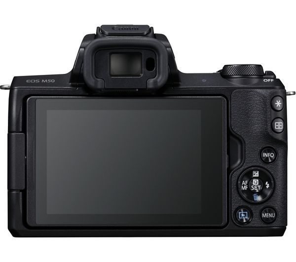 canon eos m50 screen