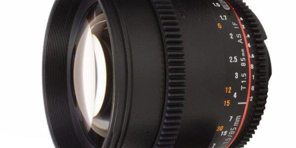 Samyang 85 mm T1.5 VDSLR II view