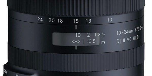 Tamron 10-24mm F 3.5-4.5 Di II VC HLD lens