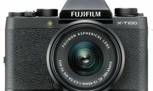 Fujifilm X-T100 camera view