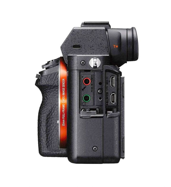 Sony A7RII connections