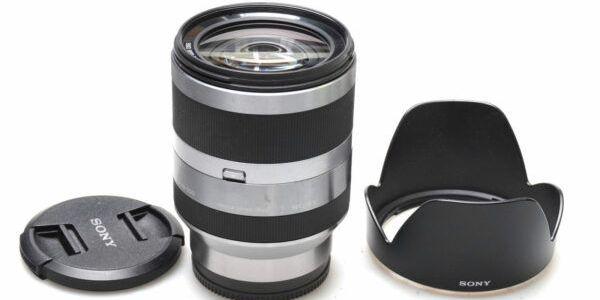 Sony lens 18-200mm