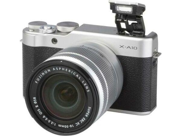 Fujifilm X-A10 digital camera view