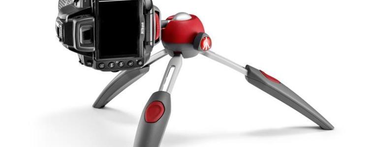 Manfrotto PIXI EVO 2 attached camera