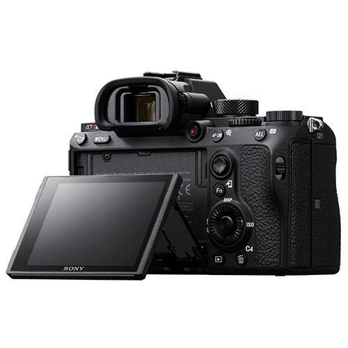Sony A7R III back view