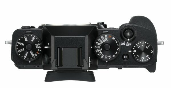 Fujifilm X-T3 view from top