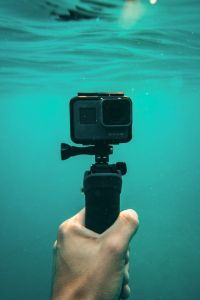 action camera underwater