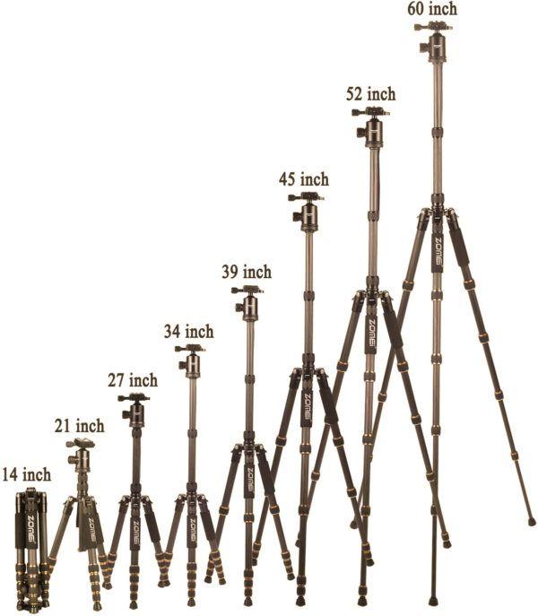 Zomei Z669c reaching heights