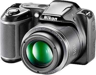 Nikon Coolpix L340 camera front view