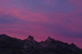 Sunset, Newberry Mountains, Nevada