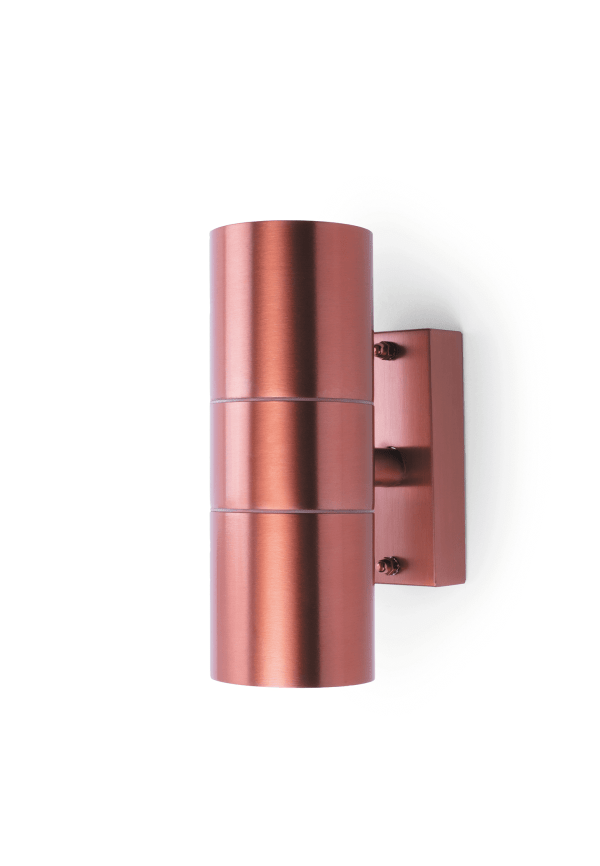 Coral Up and Down Wall Light - Copper