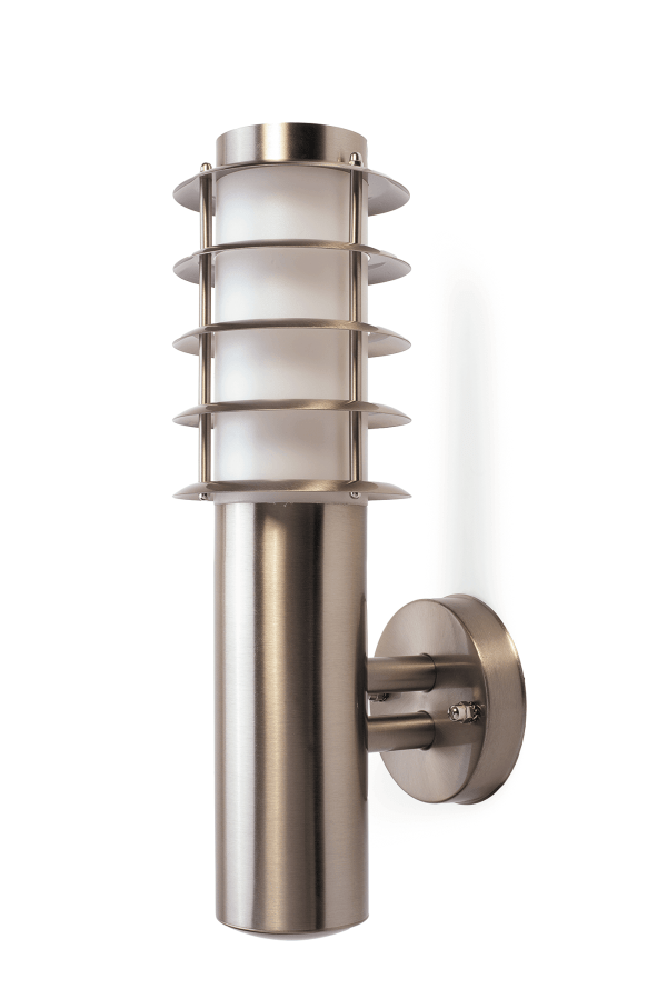 Ohio Stainless Steel Tiered Wall Light