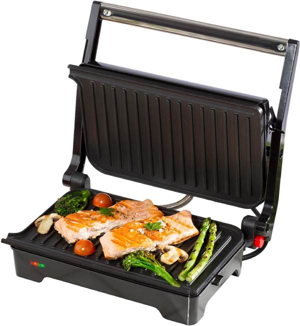 Daewoo SDA1572 Health Grill with Cool Touch Handle Non Stick
