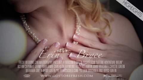 Erin & Bryce Highlight Wedding Film Splash Screen