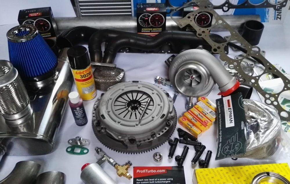 medium resolution of complete bmw turbo kit m50 m52 m54 engine