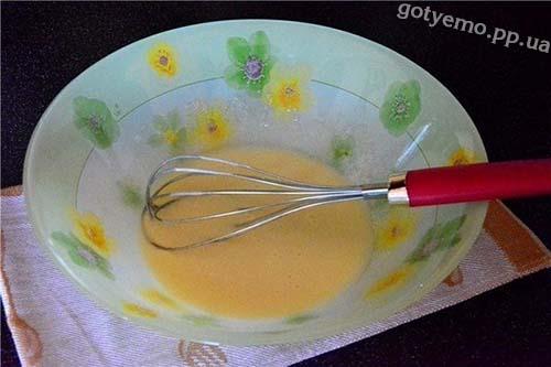 яйця + цукор