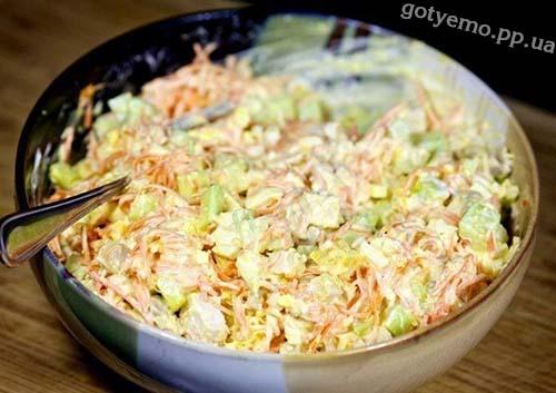 Салат з морквою по-корейський