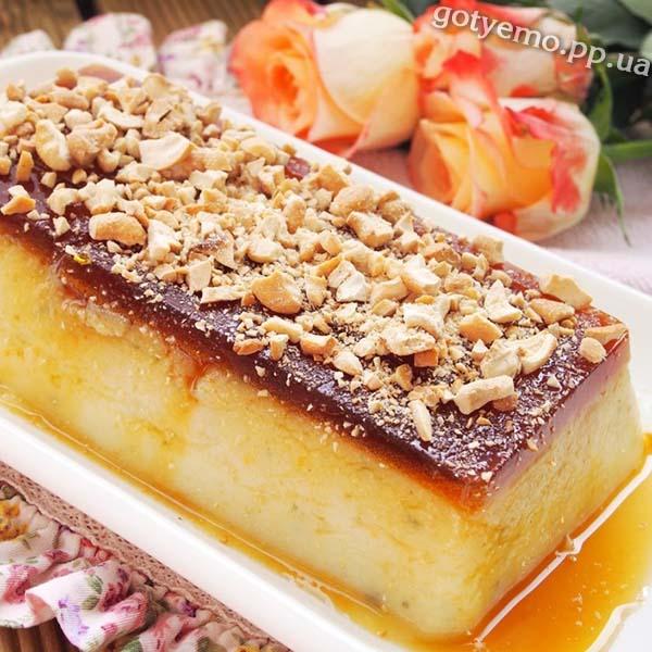 рецепт турецього десерта з манки