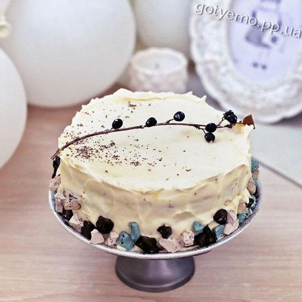 Маковий торт Крила ангела