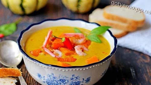 рецепт супу з гарбуза і сочевиці