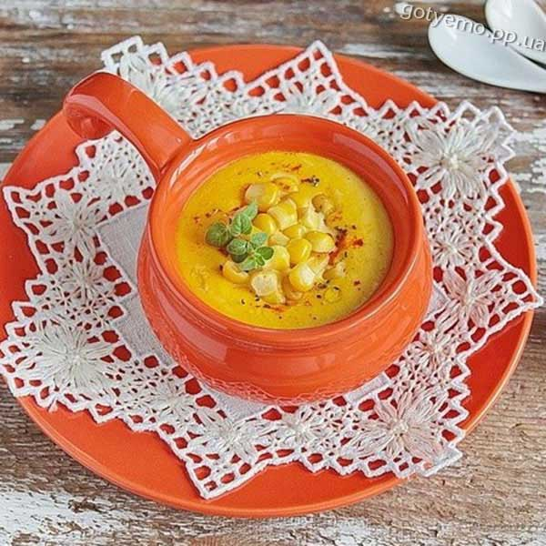 Єврейський кукурудзяний суп-пюре