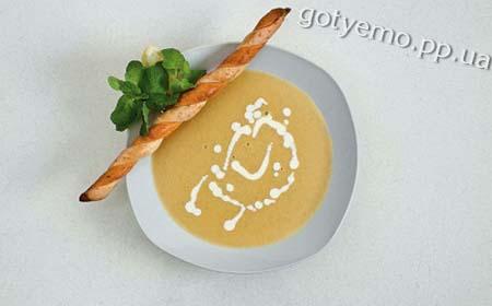 рецепт крем-супу із сочевицею та м'ятою