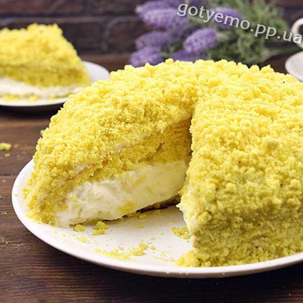 торт мімоза