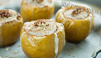 рецепт чізкейку у яблуках