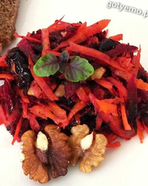 Салат з буряка і моркви