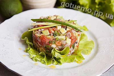 Рецепт тартару з оселедцем