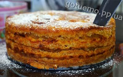 яблучний пиріг рецепт