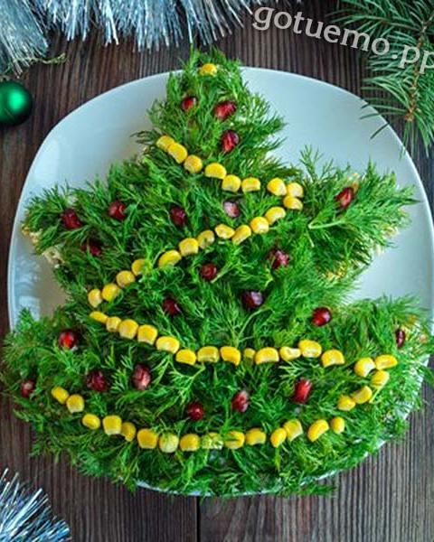 новорічний салат