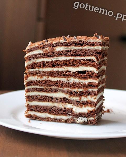 торт спартак - як спекти